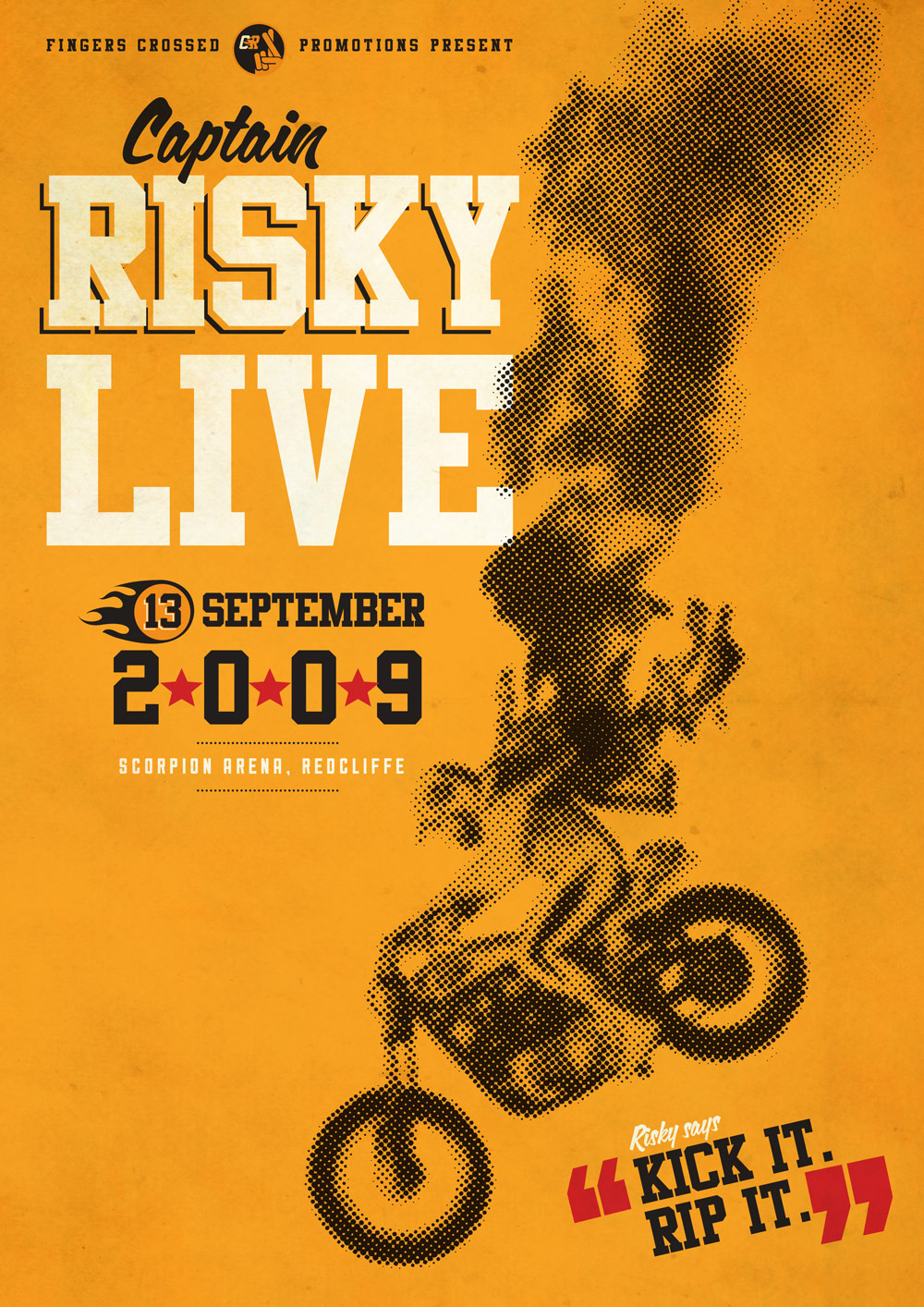 Captain Risky's September 2009 Tour